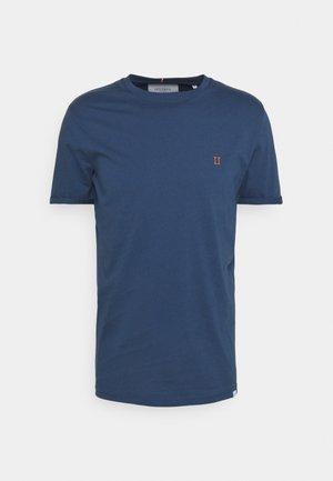 NØRREGAARD - Jednoduché triko - denim blue