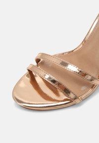 Steve Madden - BRYDGET - Platform sandals - rose gold - 7