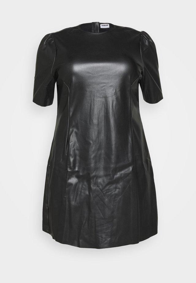 NMHILL SHORT DRESS  - Vestido de cóctel - black