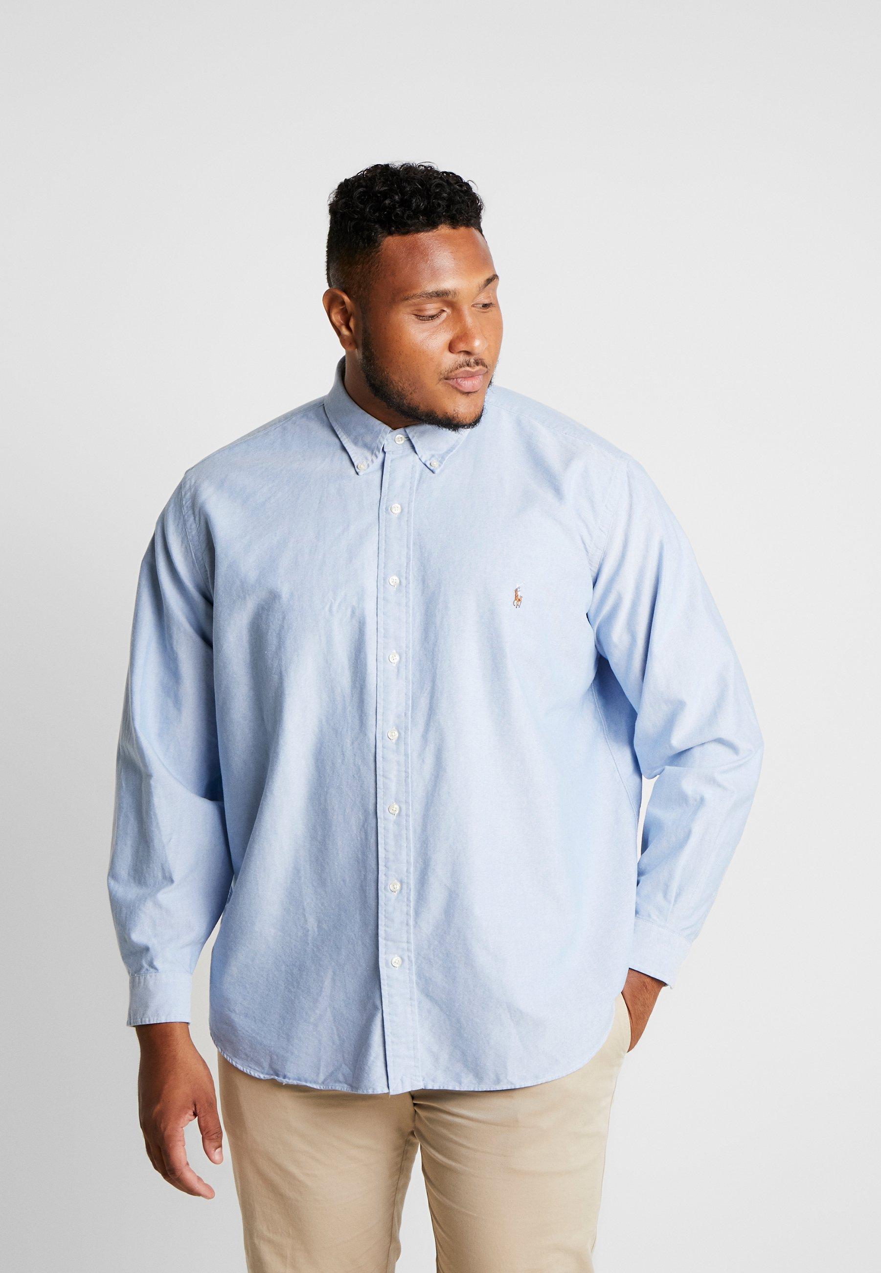 2020 Miesten vaatteet Sarja dfKJIUp97454sfGHYHD Polo Ralph Lauren Big & Tall OXFORD Vapaa-ajan kauluspaita blue