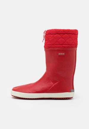GIBOULÉE - Wellies - rouge blanc