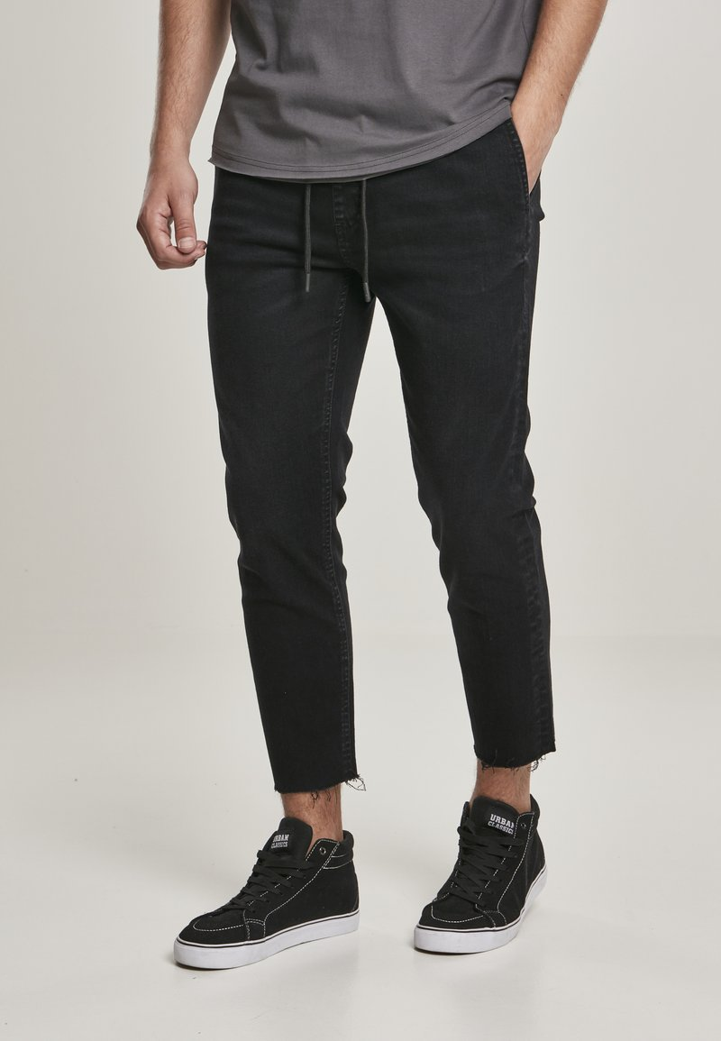 Urban Classics - Slim fit jeans - black