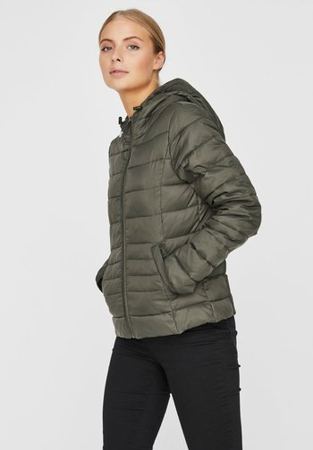 Winter jacket - peat