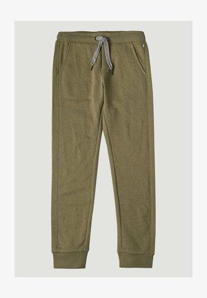 Pantalones deportivos - olive leaves