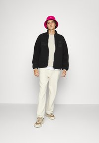 adidas Originals - ZIP THRU - Fleece jacket - black - 4