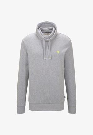 STRICK & SWEATSHIRTS SNOOD MIT PRINT - Sweatshirts - light stone grey melange
