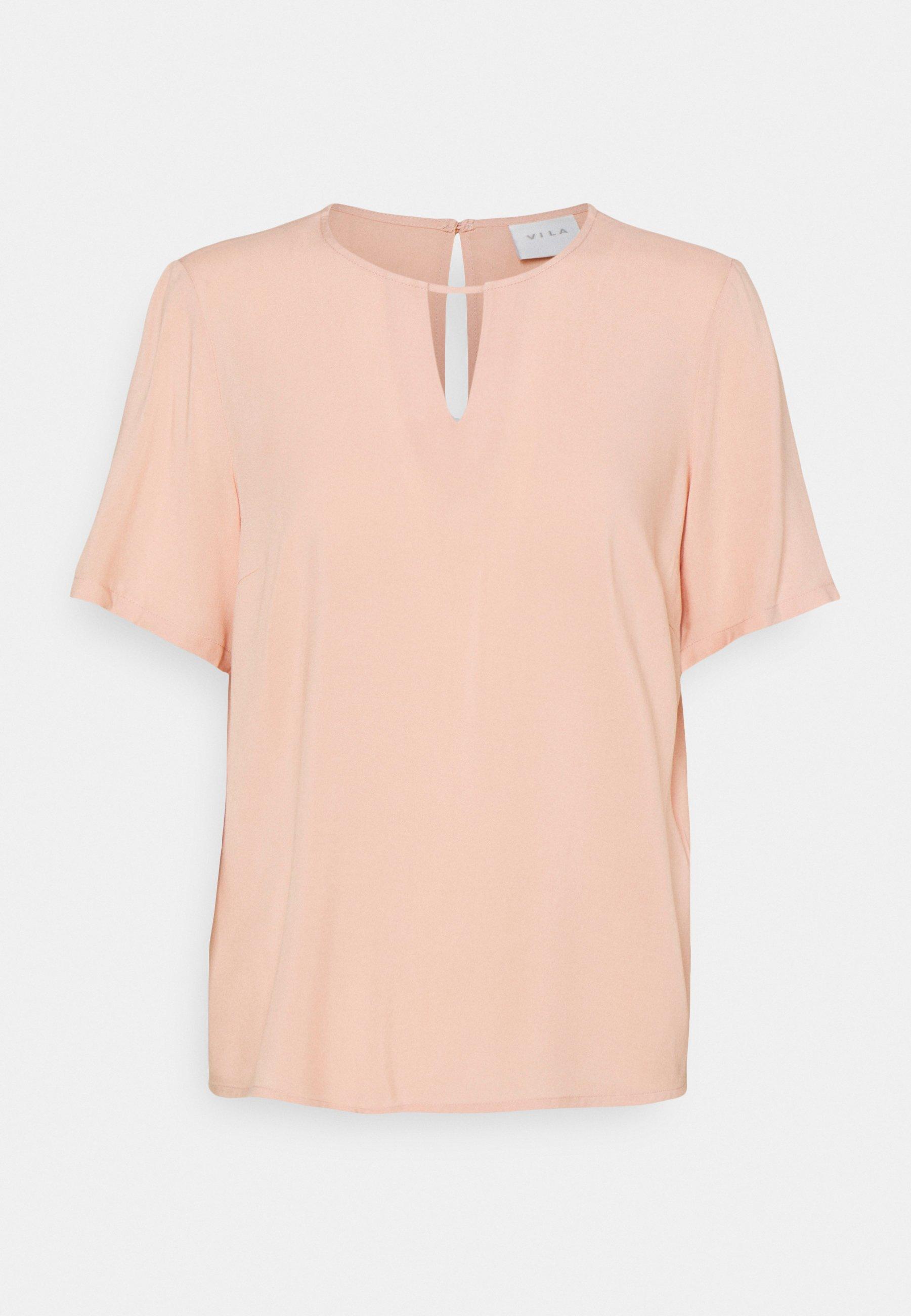 Women VILANA KEY HOLE - Basic T-shirt