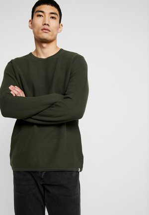 REISWOOD JUMPER  - Strikpullover /Striktrøjer - racing green