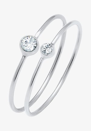 GLASS CRYSTAL - Ring - white
