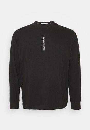 INSTIT GRAPHIC TEE - Pitkähihainen paita - black