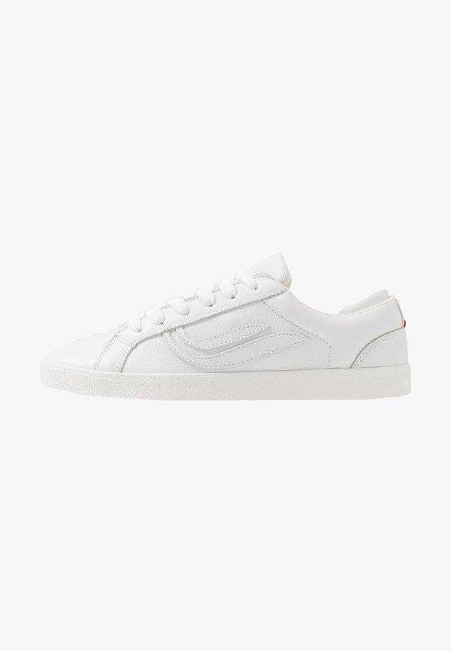 G-HELÀ TUMBLED - Baskets basses - white/offwhite