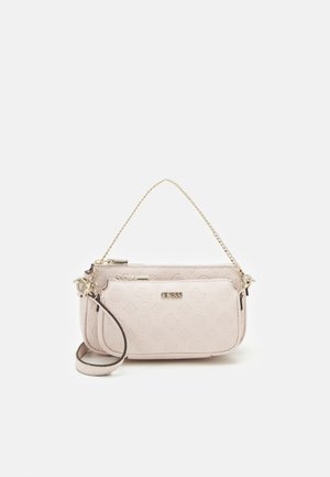 DAYANE DOUBLE POUCH CROSSBODY SET - Handtas - blush