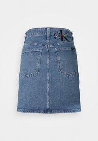 Calvin Klein Jeans - PRIDE SKIRT - Mini skirt - denim medium - 1