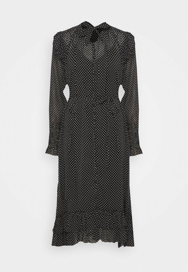 LARA DOT DRESS - Day dress - black