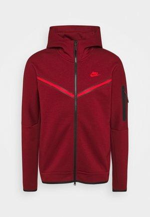 Zip-up hoodie - team red/university red
