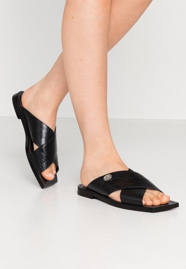 ANOMA - Sandaler - black