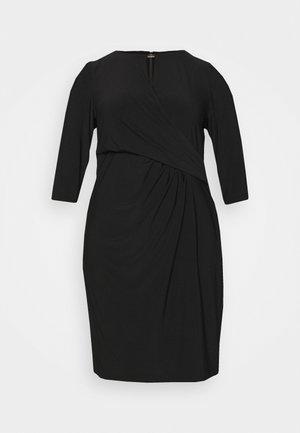 CARLONDA LONG SLEEVE DAY DRESS - Jersey dress - black
