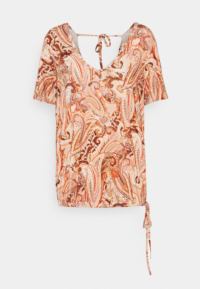 LULLA - T-shirt con stampa - desert sage