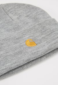 Carhartt WIP - CHASE BEANIE - Pipo - grey heather/gold - 5