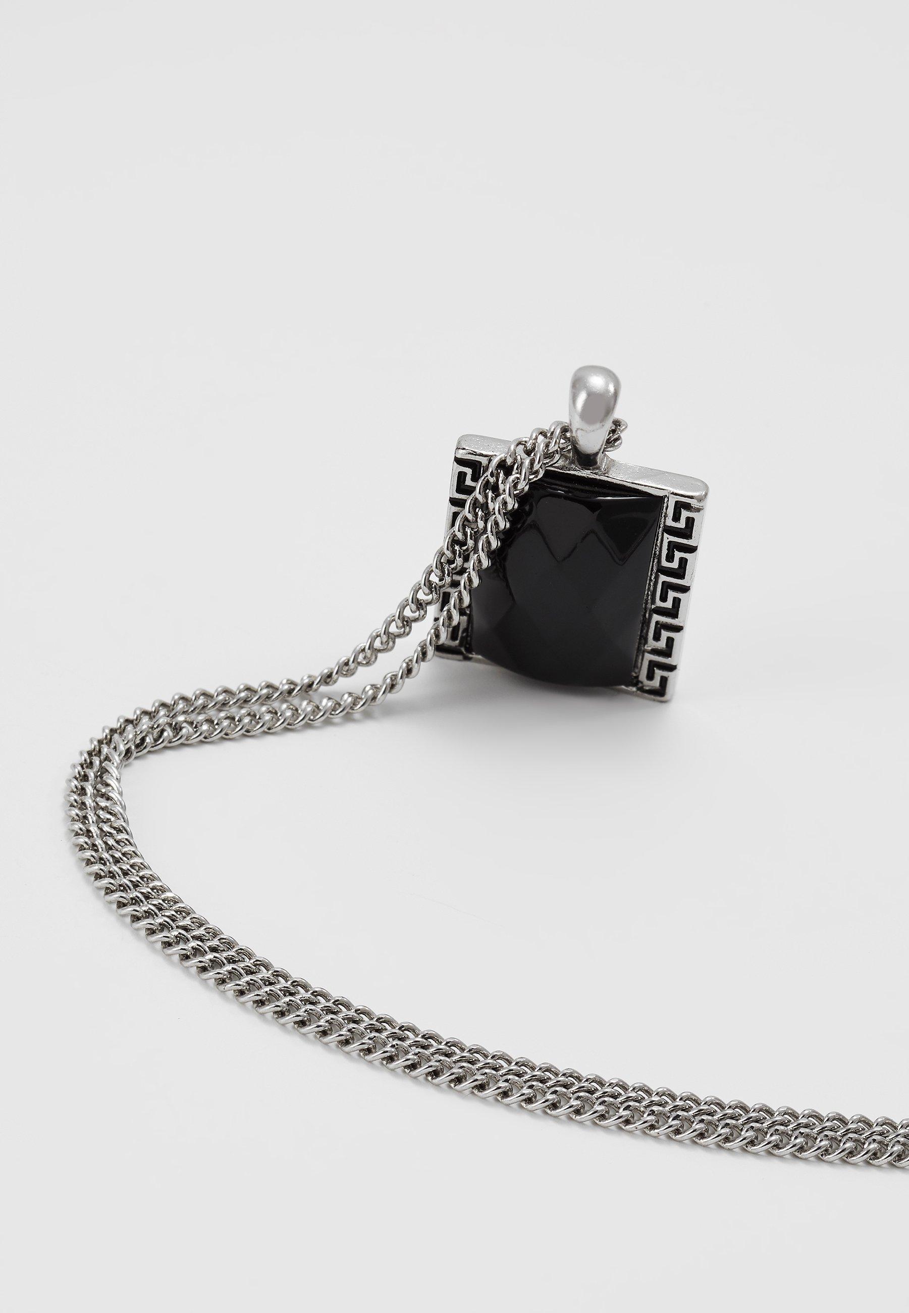 Accessori,Gioielli,Borse & Beauty care Wild For The Weekend JET MONOGRAM NECKLACE Collana silver-coloured