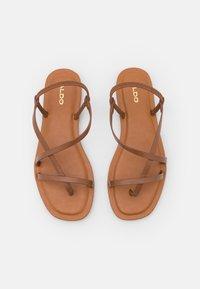 ALDO Wide Fit - BROASA - Tongs - brown - 5