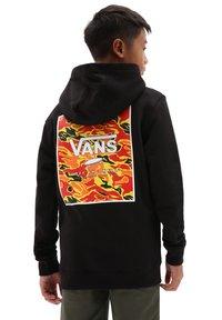 Vans - BY PRINT BOX BACK PO  - Hoodie - black flame camo - 1