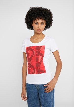ZALANDO X ESCADA SPORT  - Camiseta estampada - red