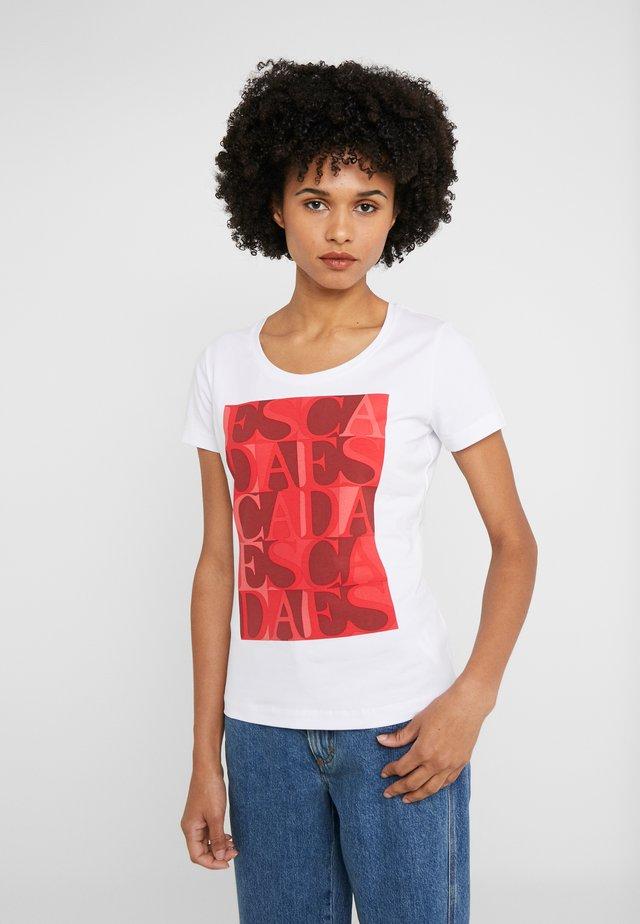 ZALANDO X ESCADA SPORT  - T-shirt con stampa - red