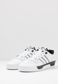 adidas Originals - RIVALRY - Trainers - footwear white/core black - 2