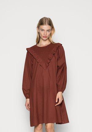 JOFA SMOCK DRESS  - Day dress - brown