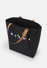 Marni - TRIBECA SHOPPING BAG UNISEX - Tote bag - black - 4