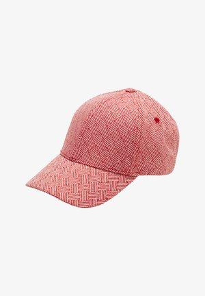 Cap - red aop