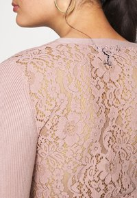New Look - LACE BACK CARDIGAN - Cardigan - pale pink - 5