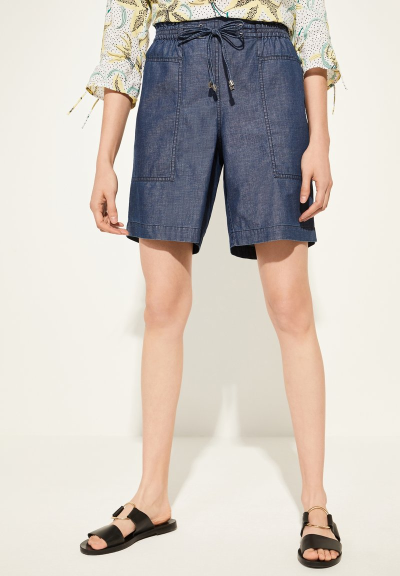 comma casual identity - Denim shorts - blue