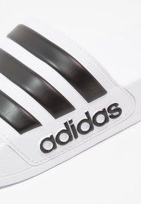 adidas Performance - ADILETTE - Pool slides - footwear white/core black - 5