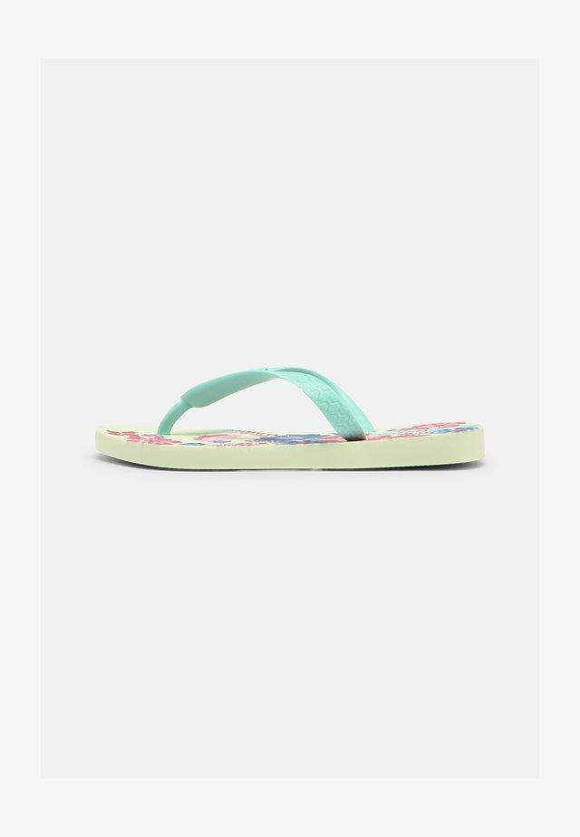 CLASSIC KIDS - Varvassandaalit - green/pink