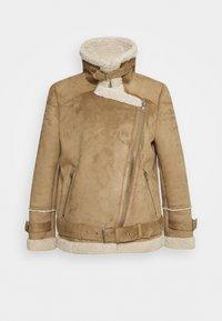 Oakwood - COMMUNITY - Faux leather jacket - beige - 1