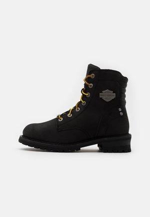 HEDMAN - Bottines à lacets - black