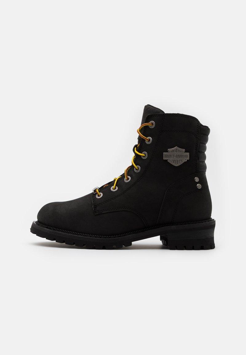 Harley Davidson - HEDMAN - Lace-up ankle boots - black