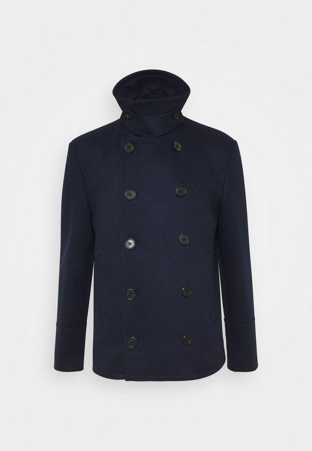 GENTS PEA COAT - Manteau court - dark blue