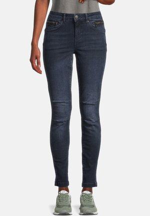 CASUAL HOSE SLIM FIT - Jeans Skinny Fit - dark blue denim