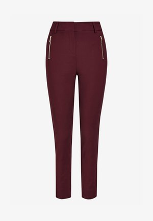 Trousers - berry