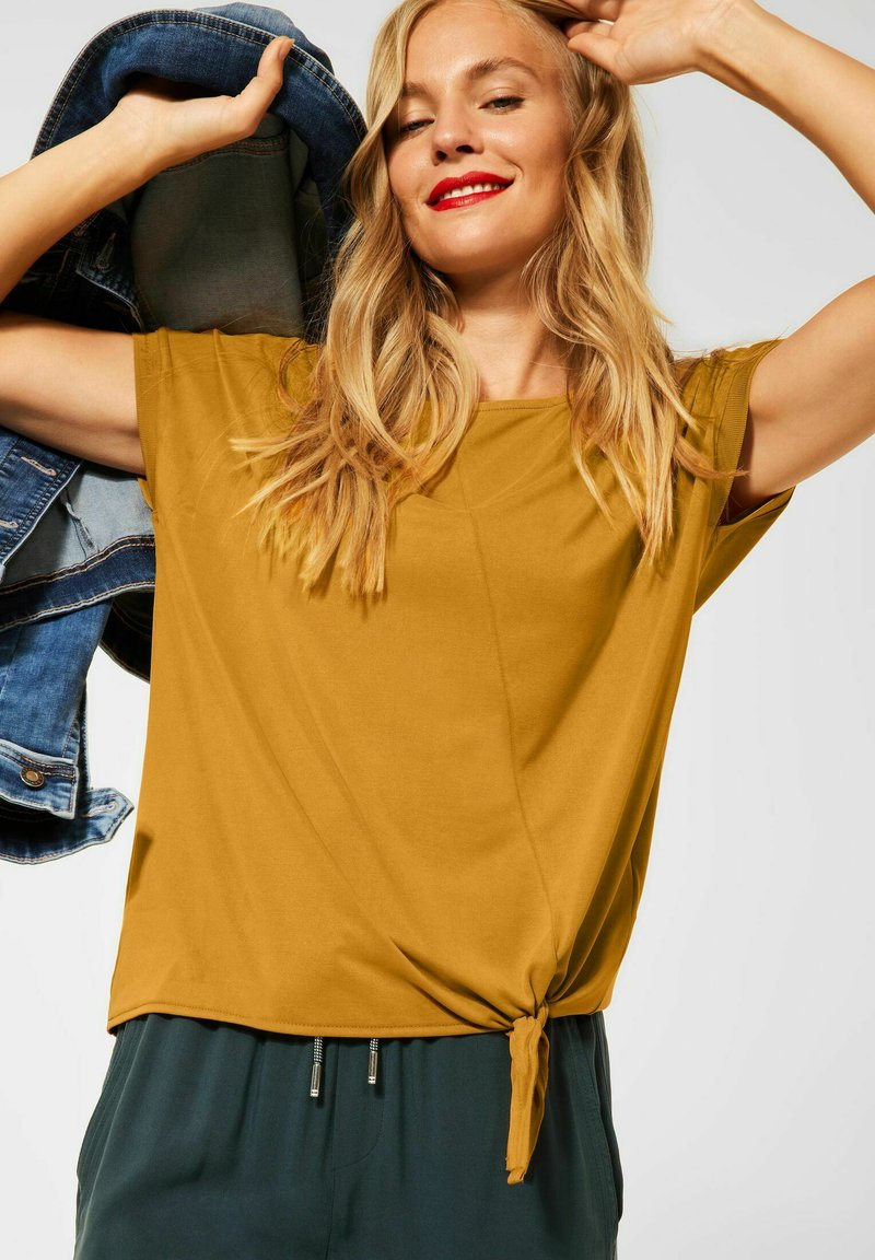 Street One - Print T-shirt - gelb