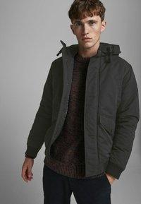 Jack & Jones PREMIUM - Winter jacket - black - 3