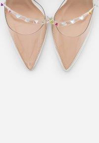 BEBO - RUHANA - High heels - clear/white - 5