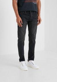The Kooples - Jeans Slim Fit - black washed - 0