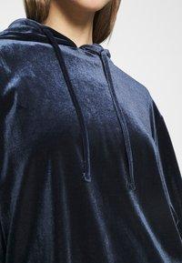 Pieces - PCGIGI HOODIE - Hoodie - navy blazer - 4