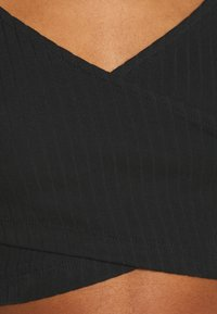 Even&Odd - Maglietta a manica lunga - black - 5