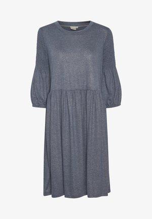 Jerseykleid - winter blue melange