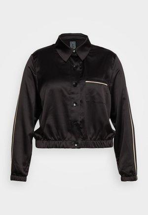 FASHION CROPPED TOP - Pyjama top - black